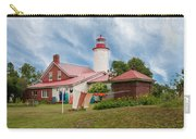 Portage River - Jacobsville - Lighthouse Carry-all Pouch