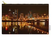 Portland At Night Carry-all Pouch