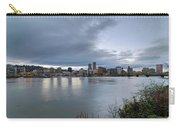 Portland City Downtown Cityscape During Evening Carry-all Pouch