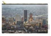 Portland City Downtown Cityscape Panorama Carry-all Pouch