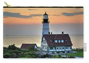 Portland Head Lighthouse At Daybreak 2 Carry-all Pouch