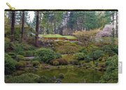 Portland Japanese Garden By The Lake Carry-all Pouch