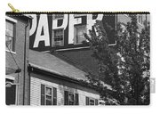 Portland, Maine - Ghost Mural Bw Carry-all Pouch