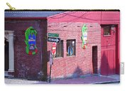 Portland Maine - Wharf Street Carry-all Pouch