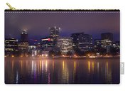 Portland Night Skyline Carry-all Pouch