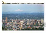 Portland Oregon Cityscape Daytime Panorama Carry-all Pouch