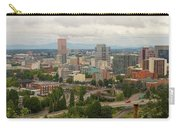 Portland Oregon Downtown Cityscape By Freeway Carry-all Pouch