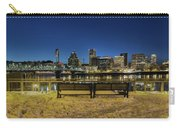 Portland Skyline View From Eastbank Esplanade Carry-all Pouch