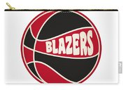 Portland Trail Blazers Retro Shirt Carry-all Pouch