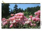 Portland's Pink Roses Carry-all Pouch