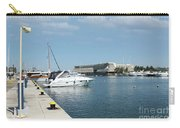Porto Carras Harbor With Yacht And Resort Carry-all Pouch