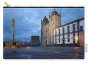 Porto Cathedral And Pillory Column In Portugal Carry-all Pouch