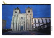 Porto Cathedral By Night In Portugal Carry-all Pouch