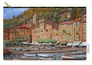 Portofino-la Piazzetta E Le Barche Carry-all Pouch