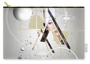 Portrait Abstract Carry-all Pouch