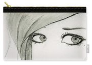 Portrait By Neha Carry-all Pouch