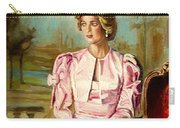 Portrait Commissions By Portrait Artist Carole Spandau Carry-all Pouch