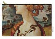 Portrait De Femme Dit De Simonetta Vespucci Carry-all Pouch