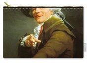Portrait De L Artiste Sous Les Traits D Un Moqueur 1793 Carry-all Pouch