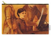 Portrait Group Of The Artists Family Carry-all Pouch