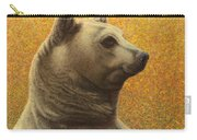 Portrait Of A Bear Carry-all Pouch