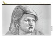 Portrait Of A Boy Carry-all Pouch