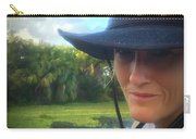 Portrait Of A Conservationist Carry-all Pouch