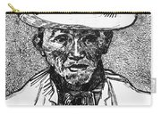 Portrait Of A Farmer Carry-all Pouch