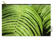 Portrait Of A Fern Carry-all Pouch