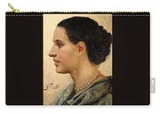 Portrait Of A Girl Henryk Semiradsky Carry-all Pouch