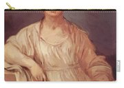Portrait Of A Girl With Crown 1642 Carry-all Pouch