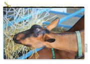 Portrait Of A Goat 2 Carry-all Pouch