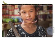 Portrait Of A Khmer Girl - Cambodia Carry-all Pouch