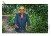Portrait Of A Khmer Rice Farmer - Cambodia Carry-all Pouch