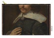 Portrait Of A Man Carry-all Pouch
