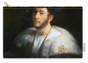 Portrait Of A Man Probably Cesare Borgia 1520 Carry-all Pouch