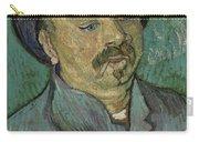 Portrait Of A One Eyed Man Saint Remy De Provence  Autumn 1889 Vincent Van Gogh 1853  1890 Carry-all Pouch