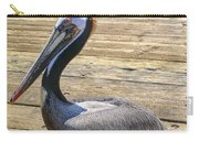 Portrait Of A Pelican Carry-all Pouch