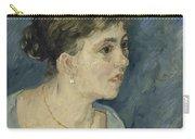 Portrait Of A Prostitute Antwerp December 1885 Vincent Van Gogh 1853  1890 Carry-all Pouch