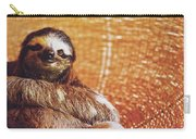 Portrait Of A Sloth Pet Looking In The Camera Carry-all Pouch