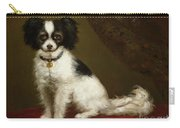 Portrait Of A Spaniel Carry-all Pouch
