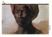 Portrait Of A Turk In A Turban Carry-all Pouch