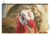 Portrait Of A Wild Turkey Carry-all Pouch