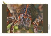 Portrait Of A Wolf Spider Carry-all Pouch