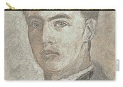 Portrait Of A Young Artist 3 Carry-all Pouch
