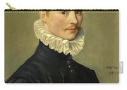 Portrait Of A Young Gentleman Head And Shoulders At The Age Of 23 Carry-all Pouch