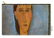 Portrait Of A Young Girl 1910 Carry-all Pouch