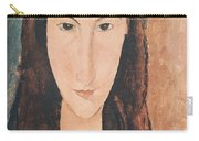 Portrait Of A Young Girl Carry-all Pouch by Amedeo Modigliani