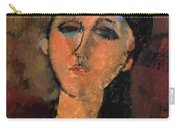 Portrait Of A Young Girl Louise 1915 Carry-all Pouch