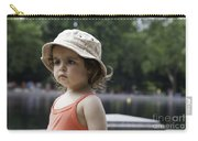 Portrait Of A Young Girl Carry-all Pouch